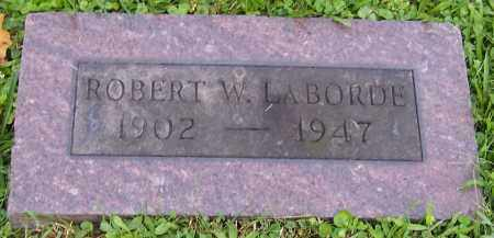 LABORDE, ROBERT W. - Stark County, Ohio | ROBERT W. LABORDE - Ohio Gravestone Photos