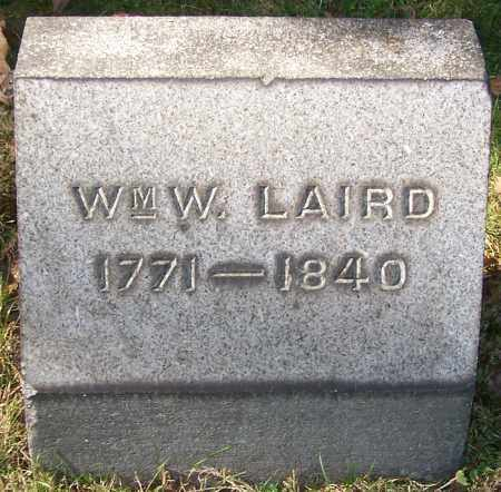 LAIRD, WM, W. - Stark County, Ohio | WM, W. LAIRD - Ohio Gravestone Photos