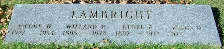 LAMBRIGHT, ETHEL K. - Stark County, Ohio | ETHEL K. LAMBRIGHT - Ohio Gravestone Photos