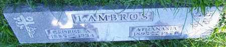 LAMBROS, GEORGE - Stark County, Ohio | GEORGE LAMBROS - Ohio Gravestone Photos