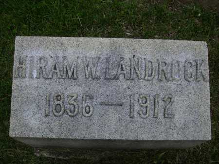 LANDROCK, HIRAM W. - Stark County, Ohio | HIRAM W. LANDROCK - Ohio Gravestone Photos