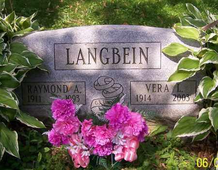 LANGBEIN, VERA L. - Stark County, Ohio | VERA L. LANGBEIN - Ohio Gravestone Photos