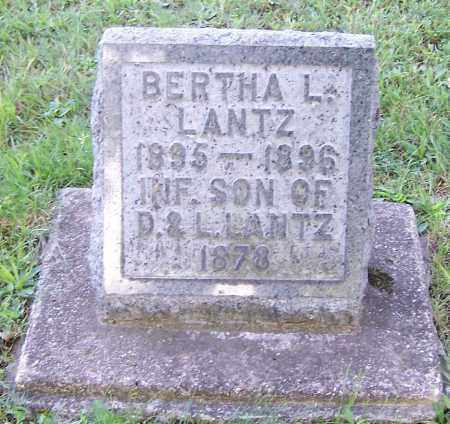 LANTZ, INFANT SON - Stark County, Ohio | INFANT SON LANTZ - Ohio Gravestone Photos