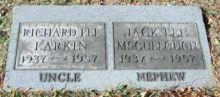 MCCULLOUGH, JACK LEE - Stark County, Ohio | JACK LEE MCCULLOUGH - Ohio Gravestone Photos