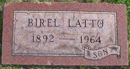 LATTO, BIREL - Stark County, Ohio | BIREL LATTO - Ohio Gravestone Photos