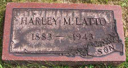 LATTO, HARLEY M. - Stark County, Ohio | HARLEY M. LATTO - Ohio Gravestone Photos