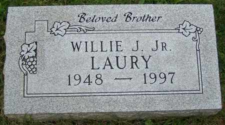 LAURY, WILLIE J. JR. - Stark County, Ohio | WILLIE J. JR. LAURY - Ohio Gravestone Photos