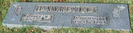 LAWRENCE, HARRY W. - Stark County, Ohio | HARRY W. LAWRENCE - Ohio Gravestone Photos