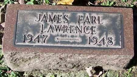 LAWRENCE, JAMES EARL - Stark County, Ohio | JAMES EARL LAWRENCE - Ohio Gravestone Photos