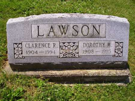 LAWSON, CLARENCE R. - Stark County, Ohio | CLARENCE R. LAWSON - Ohio Gravestone Photos