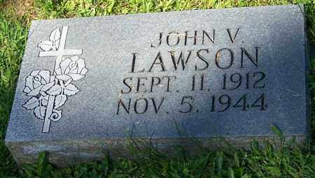 LAWSON, JOHN V. - Stark County, Ohio | JOHN V. LAWSON - Ohio Gravestone Photos