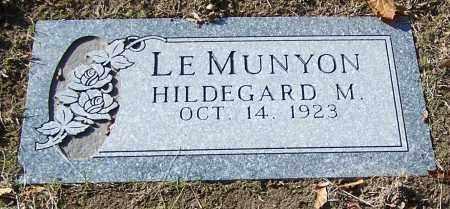 LE MUNYON, HILDEGARD M. - Stark County, Ohio | HILDEGARD M. LE MUNYON - Ohio Gravestone Photos