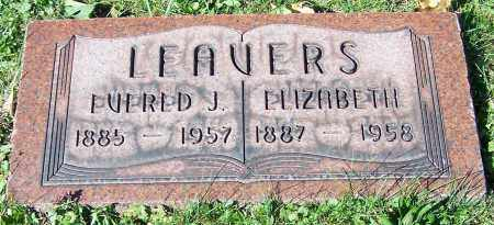 LEAVERS, ELIZABETH - Stark County, Ohio | ELIZABETH LEAVERS - Ohio Gravestone Photos