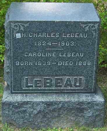 LEBEAU, CAROLINE - Stark County, Ohio | CAROLINE LEBEAU - Ohio Gravestone Photos