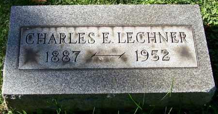 LECHNER, CHARLES E. - Stark County, Ohio | CHARLES E. LECHNER - Ohio Gravestone Photos