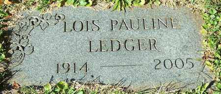 LEDGER, LOIS PAULINE - Stark County, Ohio | LOIS PAULINE LEDGER - Ohio Gravestone Photos