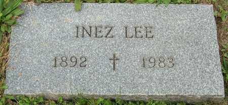 LEE, INEZ - Stark County, Ohio | INEZ LEE - Ohio Gravestone Photos