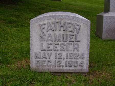 LEESER, SAMUEL - Stark County, Ohio | SAMUEL LEESER - Ohio Gravestone Photos