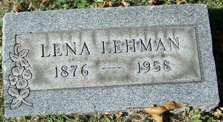 LEHMAN, LENA - Stark County, Ohio | LENA LEHMAN - Ohio Gravestone Photos