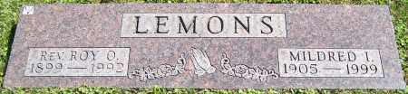 LEMONS, REV. ROY O. - Stark County, Ohio | REV. ROY O. LEMONS - Ohio Gravestone Photos