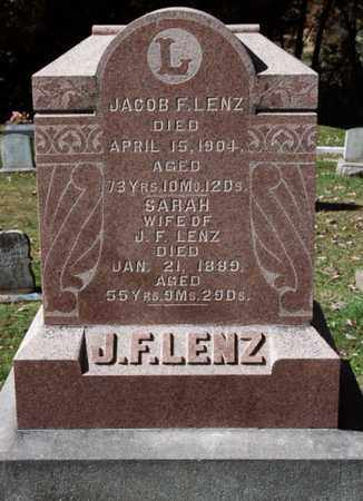 LENZ, JACOB F. - Stark County, Ohio | JACOB F. LENZ - Ohio Gravestone Photos