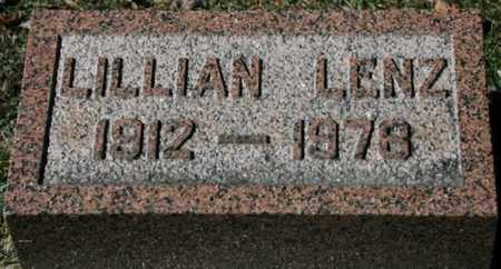 LENZ, LILLIAN - Stark County, Ohio | LILLIAN LENZ - Ohio Gravestone Photos