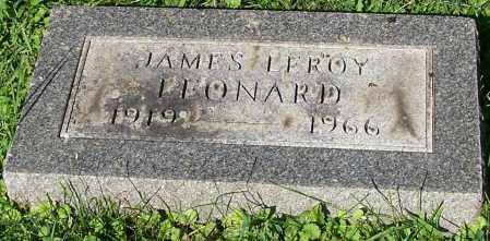LEONARD, JAMES LEROY - Stark County, Ohio | JAMES LEROY LEONARD - Ohio Gravestone Photos