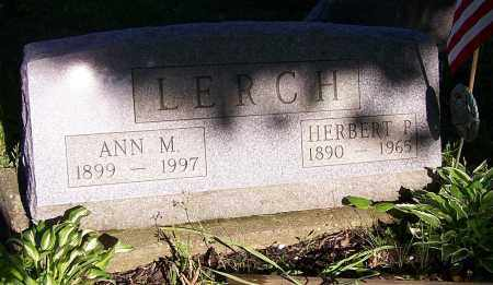 LERCH, ANN M. - Stark County, Ohio | ANN M. LERCH - Ohio Gravestone Photos