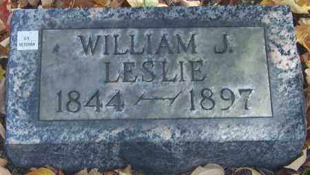LESLIE, WILLIAM J. - Stark County, Ohio | WILLIAM J. LESLIE - Ohio Gravestone Photos