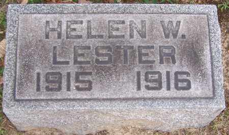 LESTER, HELEN WHITING - Stark County, Ohio | HELEN WHITING LESTER - Ohio Gravestone Photos