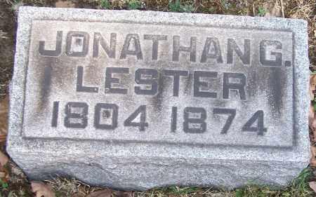 LESTER, JONATHAN G. - Stark County, Ohio | JONATHAN G. LESTER - Ohio Gravestone Photos