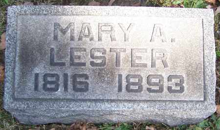 LESTER, MARY A. - Stark County, Ohio | MARY A. LESTER - Ohio Gravestone Photos