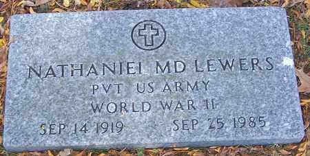 LEWERS, NATHANIEI MD - Stark County, Ohio | NATHANIEI MD LEWERS - Ohio Gravestone Photos
