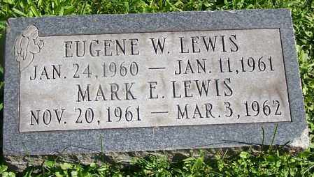 LEWIS, EUGENE W. - Stark County, Ohio | EUGENE W. LEWIS - Ohio Gravestone Photos