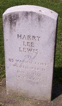 LEWIS, HARRY LEE - Stark County, Ohio | HARRY LEE LEWIS - Ohio Gravestone Photos