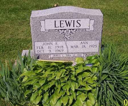 LEWIS, JAMES L. - Stark County, Ohio | JAMES L. LEWIS - Ohio Gravestone Photos