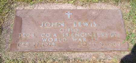LEWIS, JOHN - Stark County, Ohio | JOHN LEWIS - Ohio Gravestone Photos