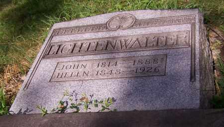 LICHTENWALTER, JOHN - Stark County, Ohio | JOHN LICHTENWALTER - Ohio Gravestone Photos