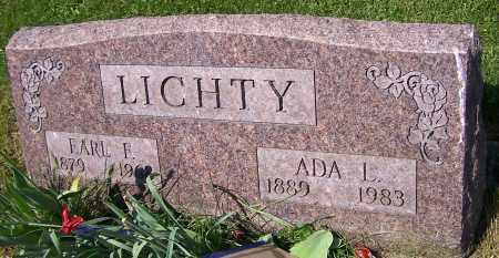 LICHTY, EARL F. - Stark County, Ohio | EARL F. LICHTY - Ohio Gravestone Photos