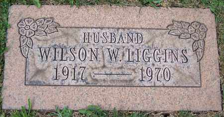 LIGGINS, WILSON W. - Stark County, Ohio | WILSON W. LIGGINS - Ohio Gravestone Photos