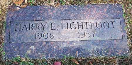 LIGHTFOOT, HARRY E. - Stark County, Ohio | HARRY E. LIGHTFOOT - Ohio Gravestone Photos
