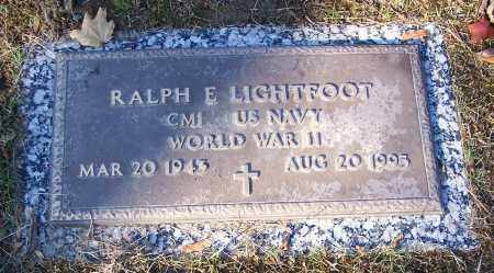 LIGHTFOOT, RALPH E.  (MIL) - Stark County, Ohio | RALPH E.  (MIL) LIGHTFOOT - Ohio Gravestone Photos