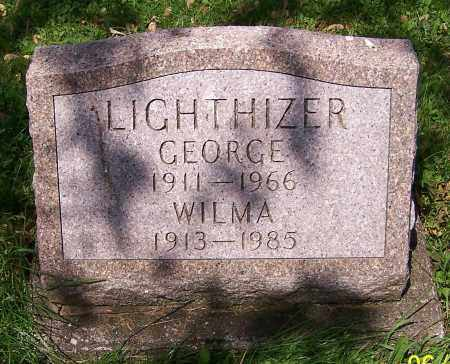 LIGHTHIZER, GEORGE - Stark County, Ohio | GEORGE LIGHTHIZER - Ohio Gravestone Photos