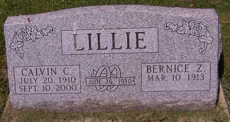 LILLIE, BERNICE Z. - Stark County, Ohio | BERNICE Z. LILLIE - Ohio Gravestone Photos
