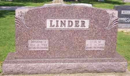 CONRAD LINDER, ELTA M. - Stark County, Ohio | ELTA M. CONRAD LINDER - Ohio Gravestone Photos