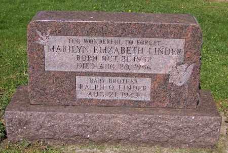 LINDER, RALPH O. - Stark County, Ohio | RALPH O. LINDER - Ohio Gravestone Photos