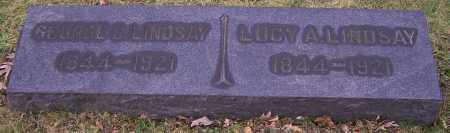 LINDSAY, LUCY A. - Stark County, Ohio | LUCY A. LINDSAY - Ohio Gravestone Photos