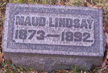 LINDSAY, MAUD - Stark County, Ohio | MAUD LINDSAY - Ohio Gravestone Photos