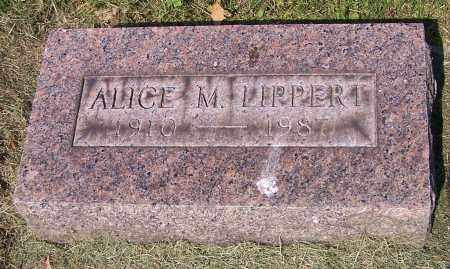 LIPPERT, ALICE M. - Stark County, Ohio | ALICE M. LIPPERT - Ohio Gravestone Photos