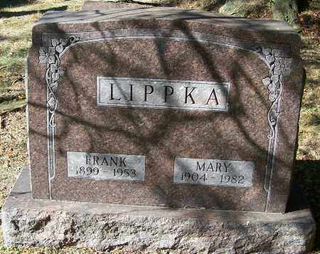 LIPPKA, MARY - Stark County, Ohio | MARY LIPPKA - Ohio Gravestone Photos